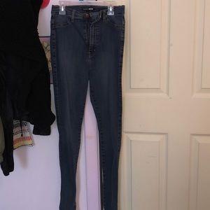 Fashion Nova High Rise Skinny Jeans